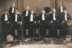 Dave Caplan's Toronto-Band From Canada, 1927.