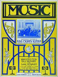 Music (Makes The World Go 'Round), Melody Kings Dance Orchestra, music sheet, 1923.