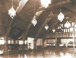 Interior of Old Mill Dance Hall, Toronto, June 10, 1929